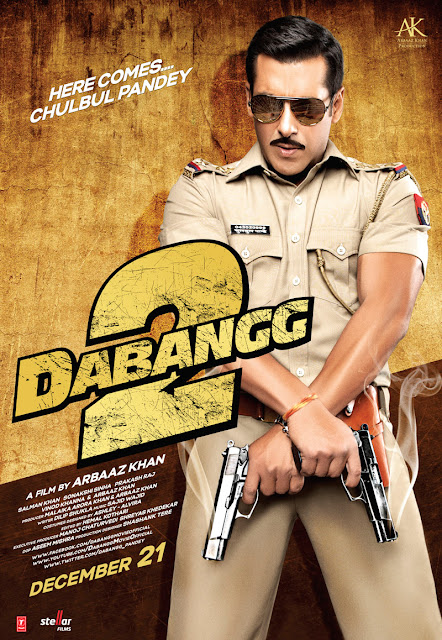 Here is the First Look Brand  Dabangg 2 First Look Poster