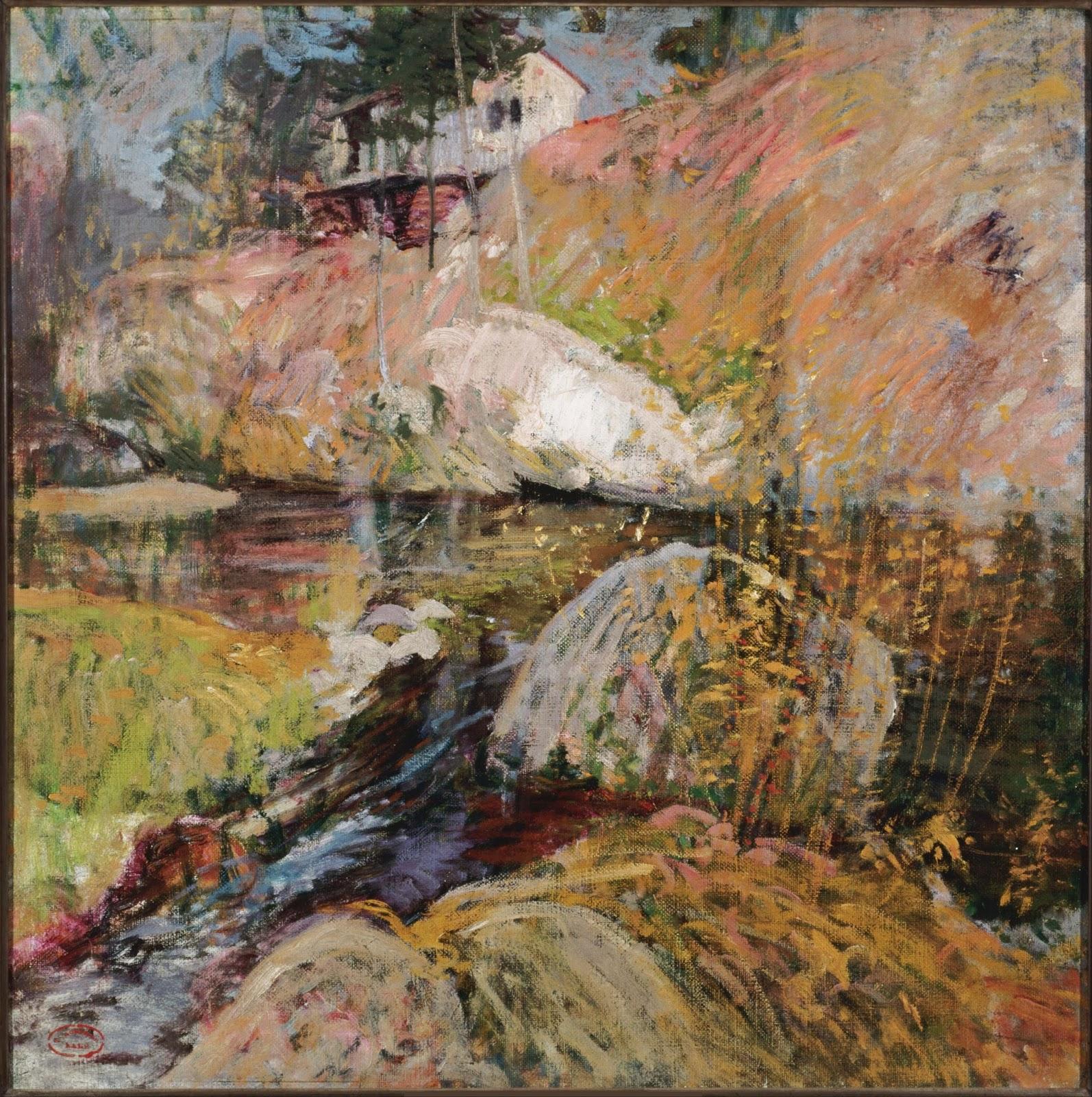 Rompedas john henry twachtman for John s painting