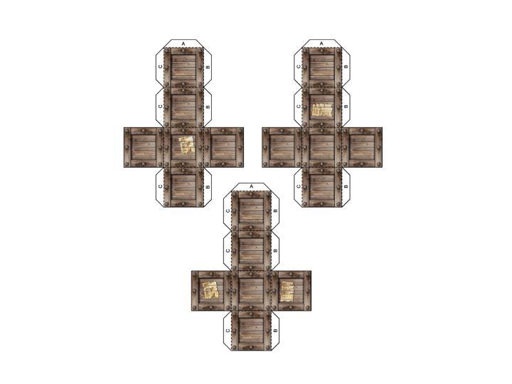 Recortables Cajas-madera