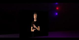 Virtual director leading the virtual choir