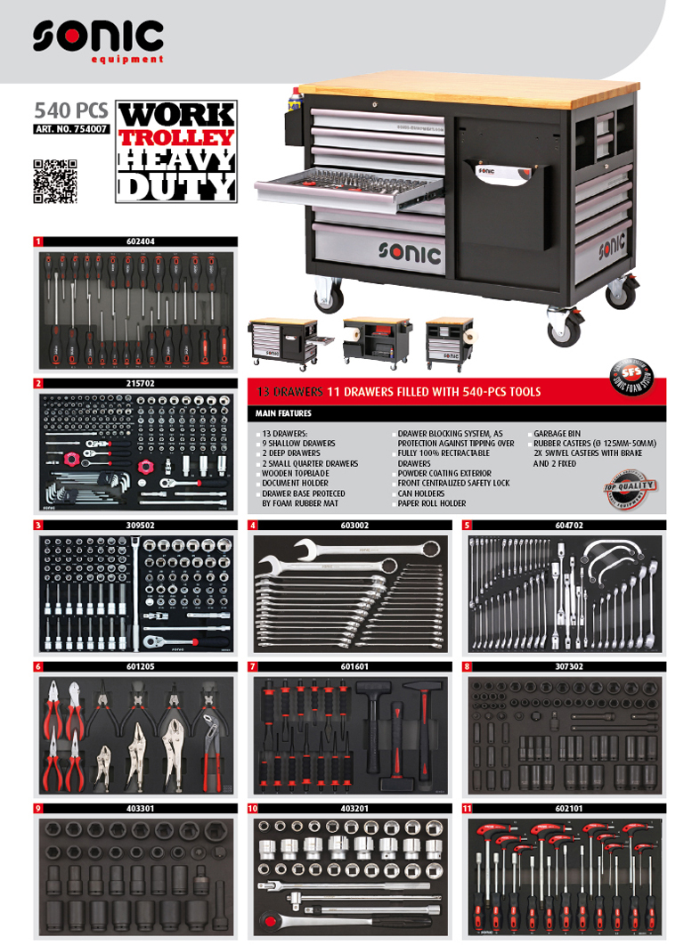 distribuidor herramientas sonic