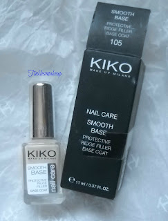 Kiko nail care smooth base protective ridge filler
