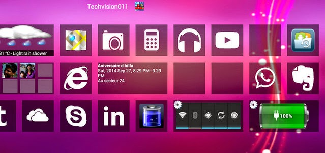 Home8+ like Windows 8 Launcher 3.2 APK