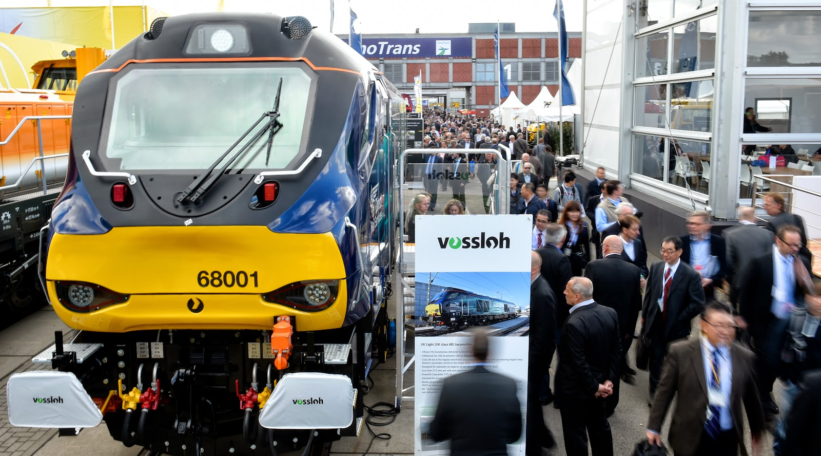 InnoTrans Inter Trade Fair for Transport and Mobility in Pictures
