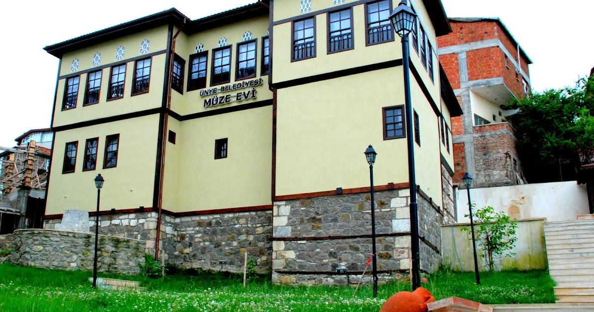 ÜNYE TARİH ARAŞTIRMA GRUBU: Ünye Belediyesi Müze Evi