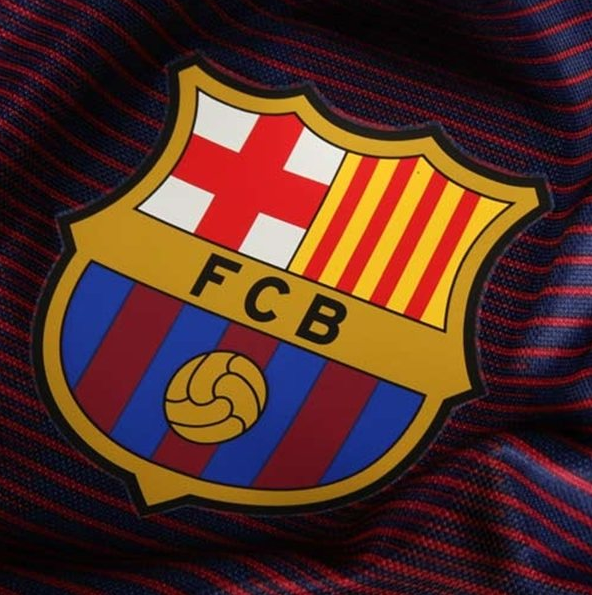 2015 Barcelona Nike Pre-Match Training Jersey (Loyal Blue