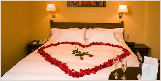 Ideas como decorar una habitaci n para una noche for Decoracion noche romantica