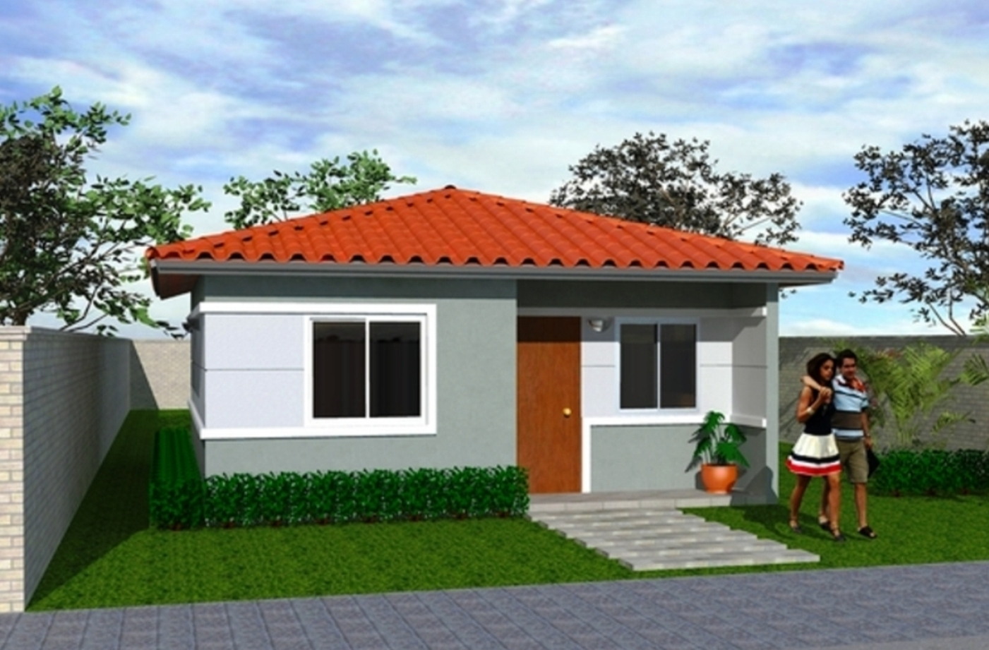 Construcciones economicas contruccion de todo tipo de for Diseno de casa sencilla