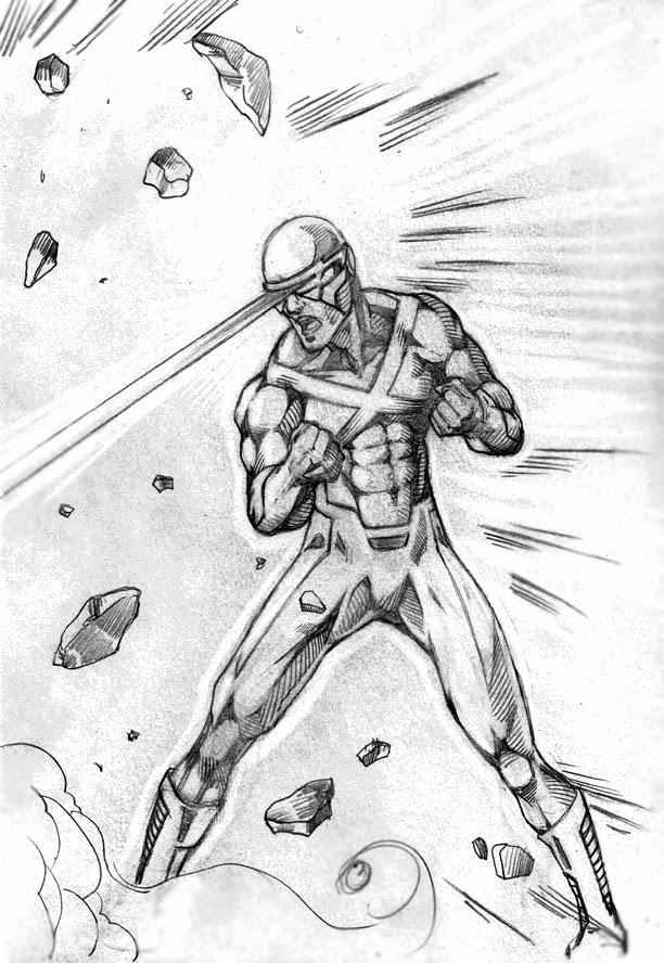 X Men Cyclops Drawings Comic Book Creator Den...