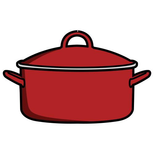 O burro de miranda bits los utensilios de la cocina ingl s for Objetos para cocinar