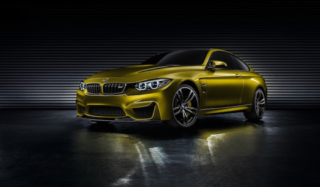 [Video] BMW M4 Coupe Concept: I'll Take Mine in Blue Please…