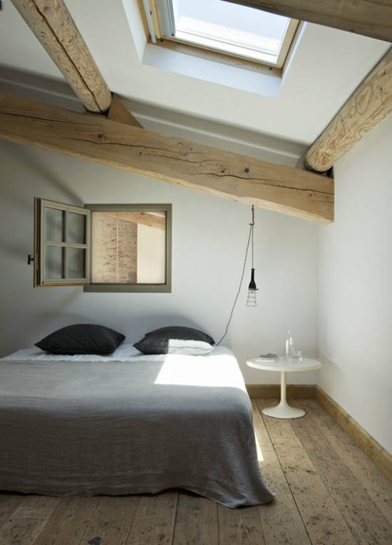 Neo rustic bedroom | Design by Marie-Laure Helmkampf.