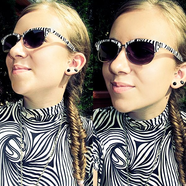 Zebra girl.