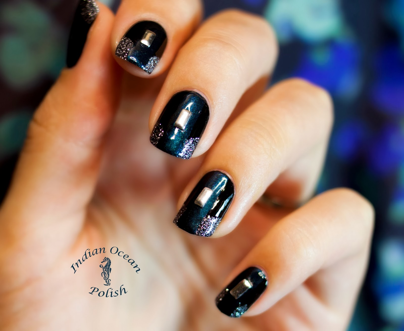 Indian ocean polish easy nail art with essie dive bar easy nail art with essie dive bar prinsesfo Images
