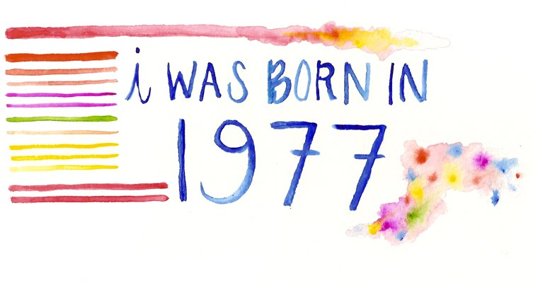 I was born in 1977