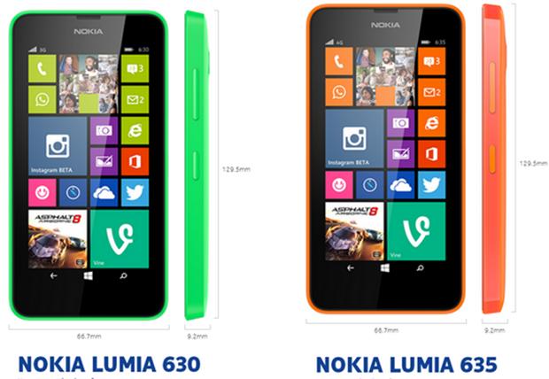 Nokia Lumia 630, 635 y 930 Presentados en Brasil