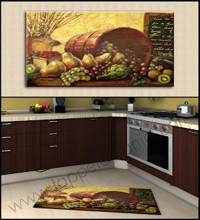 Tappeti cucina moderni antiscivolo antimacchia tronzano vercellese - Tappeti per cucina moderni ...