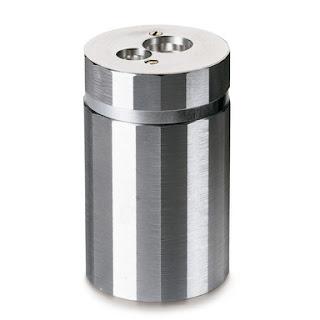 taille crayon aluminium
