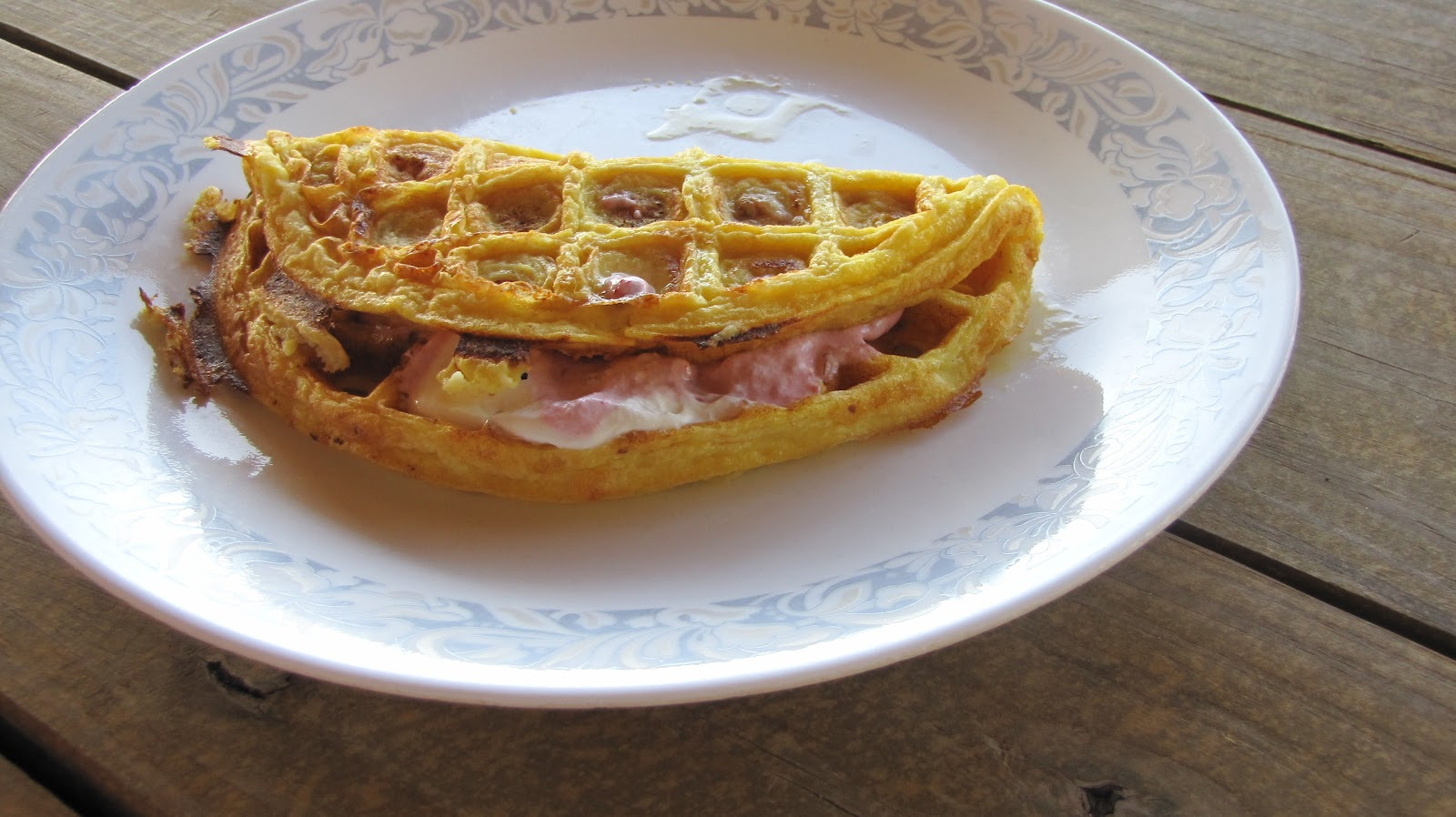 South Beach Diet: Flour free waffles: Phase 1: breakfast
