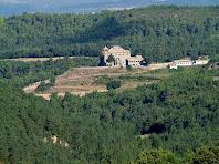 Rocabruna des del camí de La Pinosa