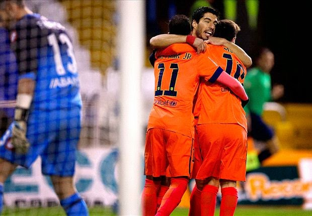 Liga Spanyol : Deportivo La Coruna 0-4 Barcelona