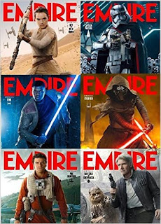 Empire Magazine The Force Awakens Six Cover Variation Bundle