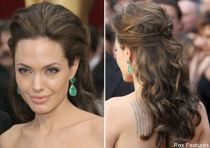 Create Half-Updo with Volume