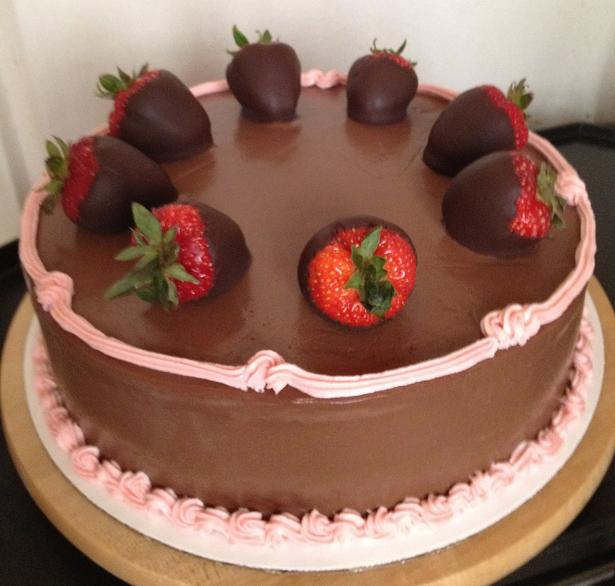 ... Mother's Day 2012: Gluten-Free Vegan Chocolate Covered Strawberry Cake