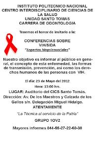 CONFERENCIA SOBRE VIH/SIDA