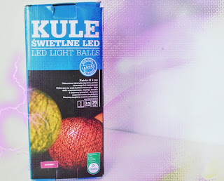 Kule świetlne LED z Biedronki + Liebster Blog Award