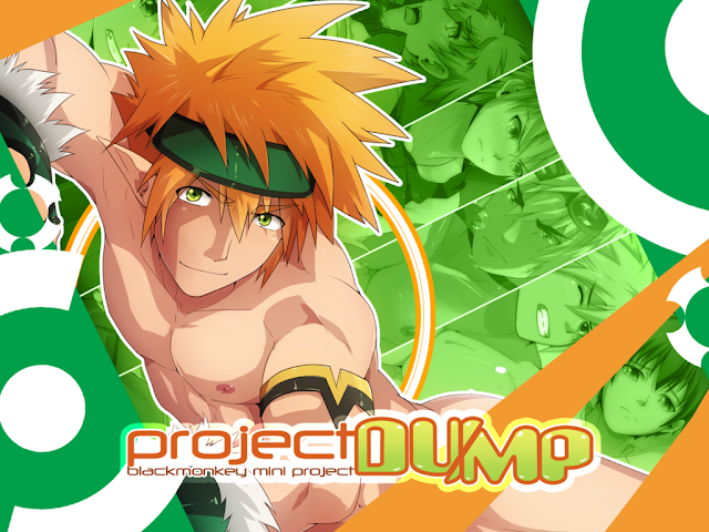 Black Monkey, bara, yaoi, color, Images Set, Project Dump,