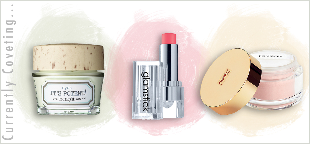 benefit it's potent, rodial glamstick, ysl powder, must have beauty items summer 2014