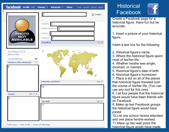 A Wonderful Free Facebook Template For Teachers
