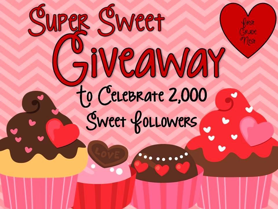 http://www.firstgradenest.com/2014/02/super-sweet-giveaway.html