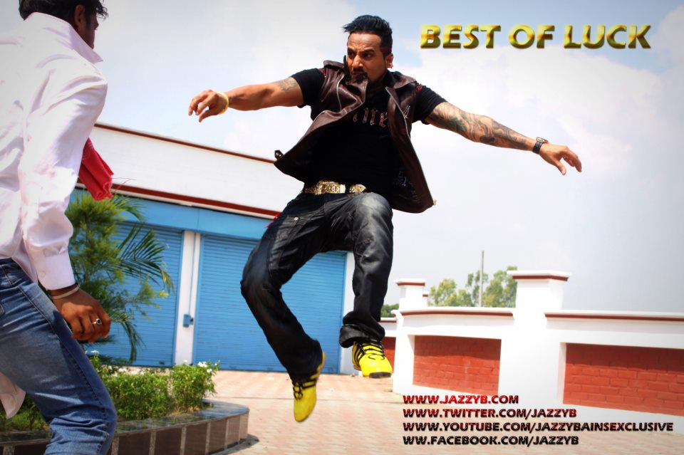 Punjabi movie best of luck wallpapers of jazzy b in hd songs by
