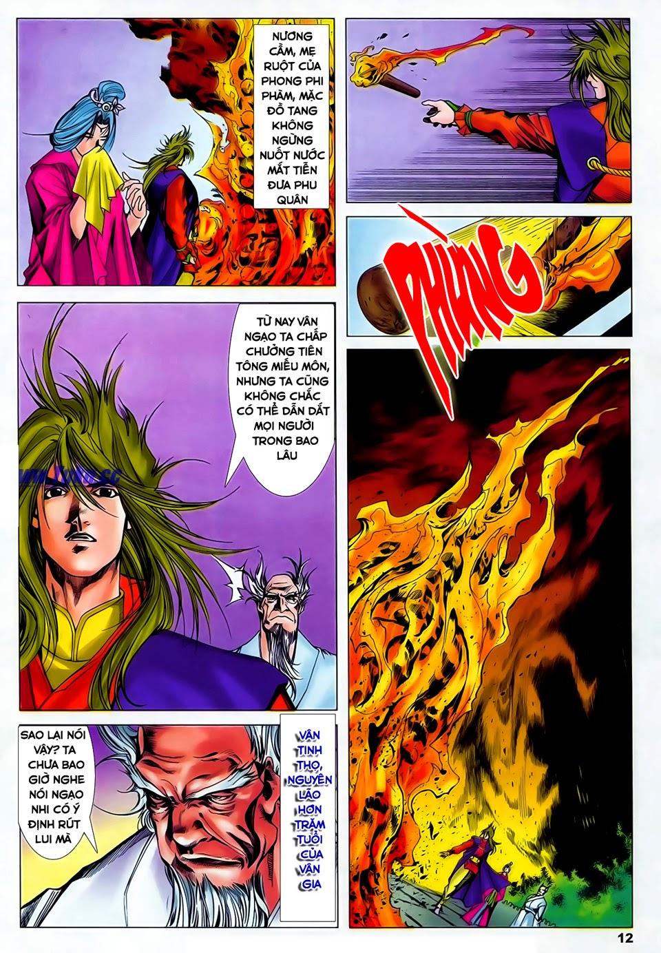 Lục Đạo Thiên Thư chap 37 - Trang 12