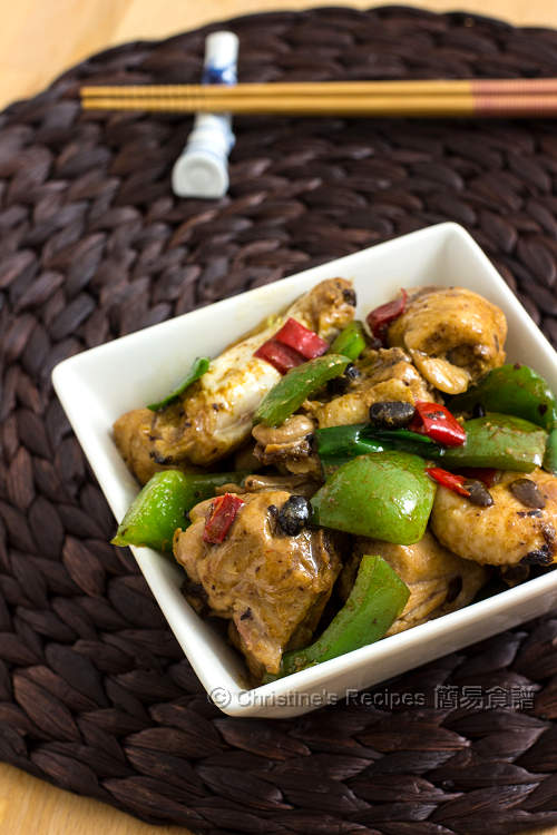豆豉雞 Chicken in Black Bean Sauce01