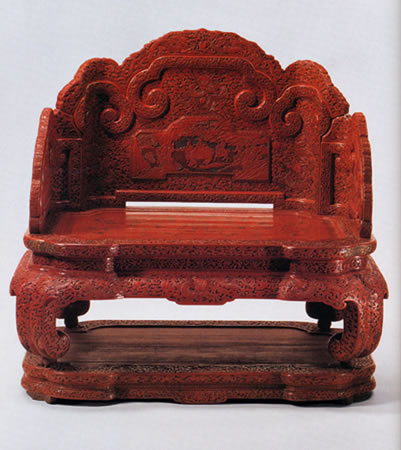 Chinese Qianlong Period Throne