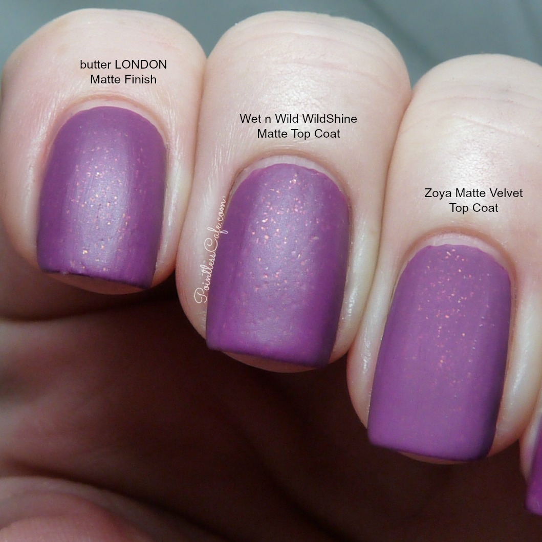 Matte Top Coat Comparison