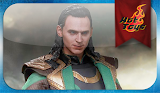 Hot Toys Thor The Dark World - 1/6th Scale Loki MMS