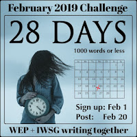 JOIN WEP FOR FEBRUARY 2019! OUR FIRST CHALLENGE FOR 2019! 28 DAYS...
