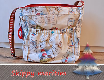 Adventskalendertasche Skippy by Farbenmix