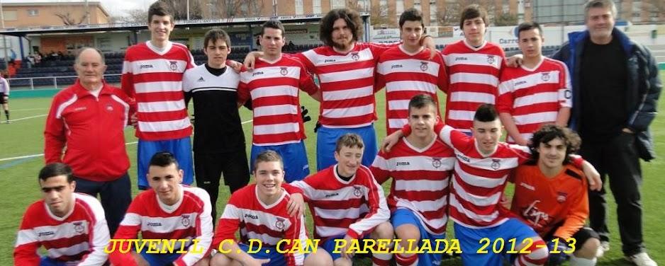 JUVENIL C.D.CAN PARELLADA 2012-13