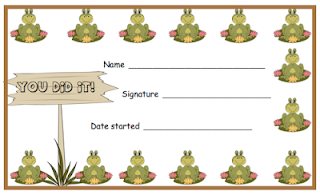 photo of Punch or Stamp Cards A Reward System that Works!, free, pdf, Ruth S. TeacherspayTeachers.com