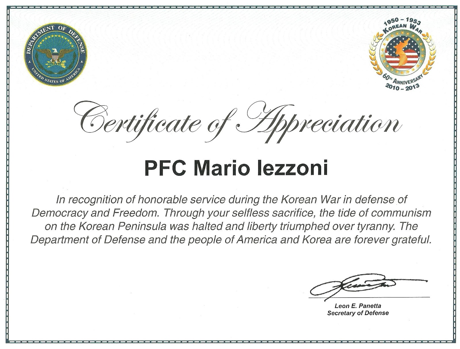Top Result 50 Beautiful Usmc Certificate Of Commendation Template ...