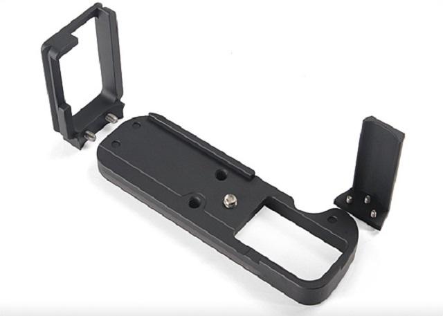 Sunwayfoto PFL-XT1R L Plate with Grip dismantled