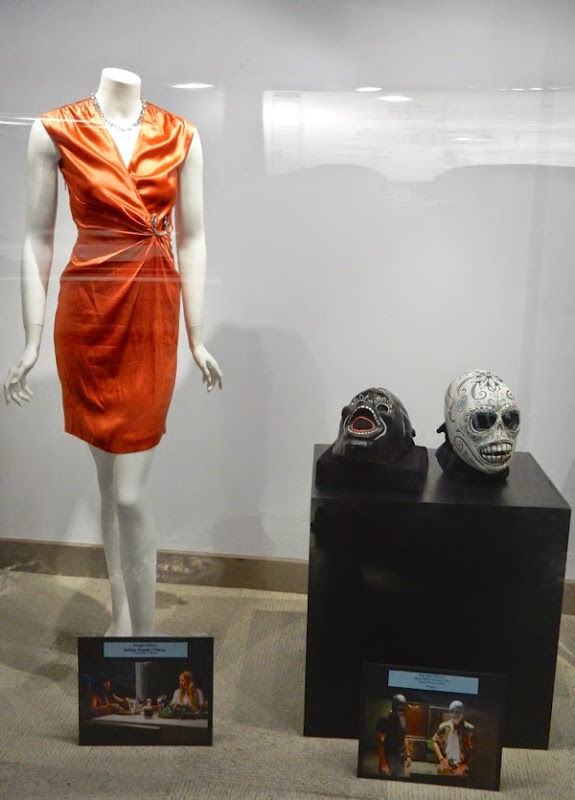 Salma Hayek Savages film costume masks