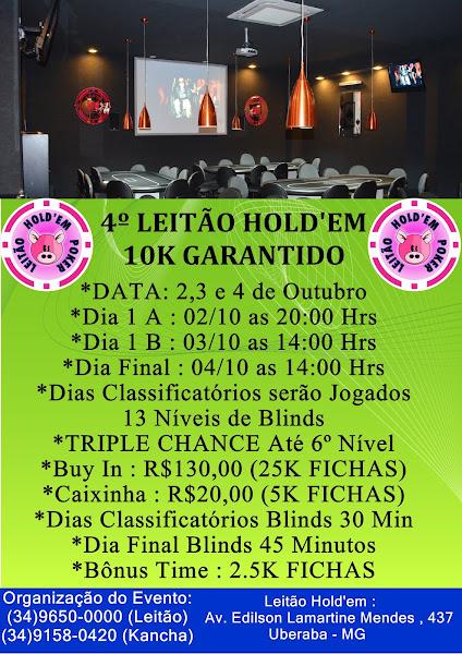 4º 10K GARANTIDO LEITÃO HOLD'EM