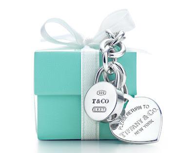 grife tiffany caixinha azul