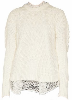 amelie lace knit
